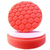 "Chemical Guys Red 5.5"" Hex Logic Pad"